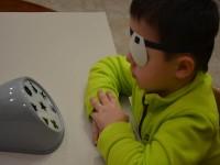 Лечение амблиопии с помощью аппарата Панорама панорамными фигурными слепящими полями.